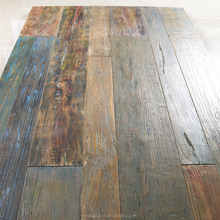 high quality wire brushed hand repair engineered used hardwood flooring for sale