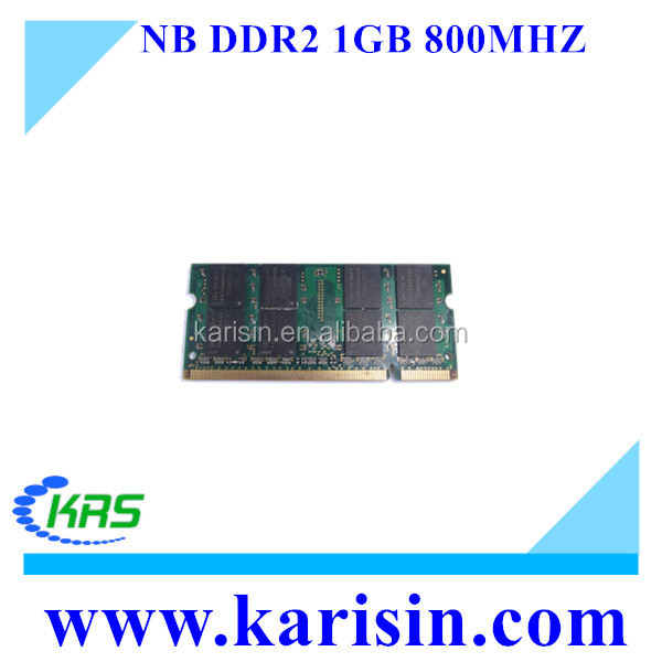 High quality computer memory ddr2 sd ram 1gb for laptop
