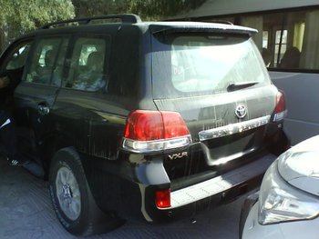 land cruiser GX and VX car