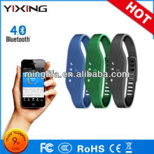 fashionable fitness step counter 3D sensor APP connection bluetooth pedometer bracelet