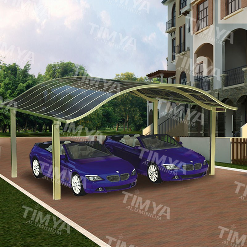 Newest design solar carport canopy with aluminum frame
