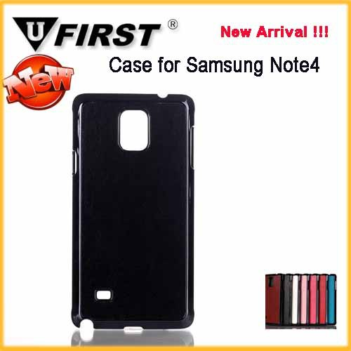 For iphone5/5s Metal Cell Phone Case ;For Samsung Note4 PU+Metal Cell Phone Case