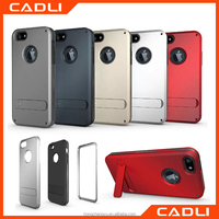 Newest TPU+PC for iphone 5 5s back Hard Stand Shockproof cover hybrid Armor 3 in 1 protective phone cases