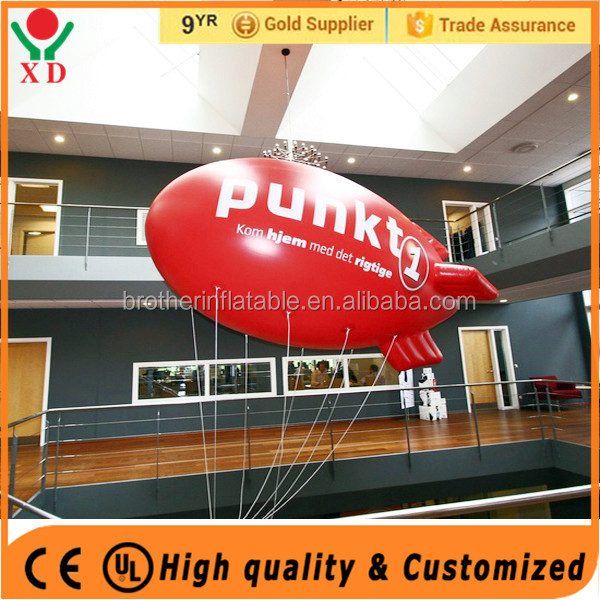 Promotional cheap inflatable floating super rocket balloon advertising balloon