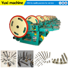 Good Quality staple nail making machinery|Top grade screw thread rolling machine for sale