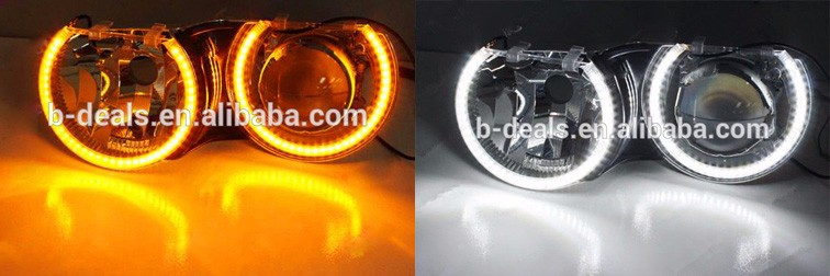 B-deals Factory Offer High Quality LED Angel Eyes White color /Switchback Dual color / RGB Colors