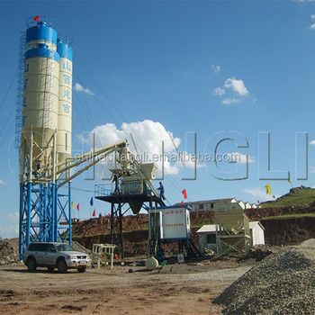 stationary concrete batching plant, concrete batching plant,hzs50 concrete batching plant manufacturer