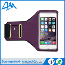 Durable universal adjustable neoprene elastic sport purle color case for samsung galaxy s3 mini case