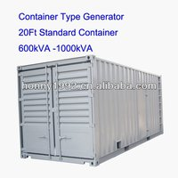 Soundproof Trailer Container for Genset