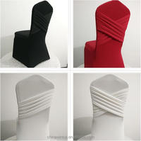 spandex chair cover cross back for wedding party decoration/ perfect for banquet chair
