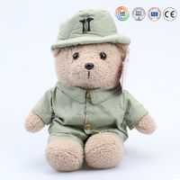 Custom plush promotion teddy bear with T-shirt