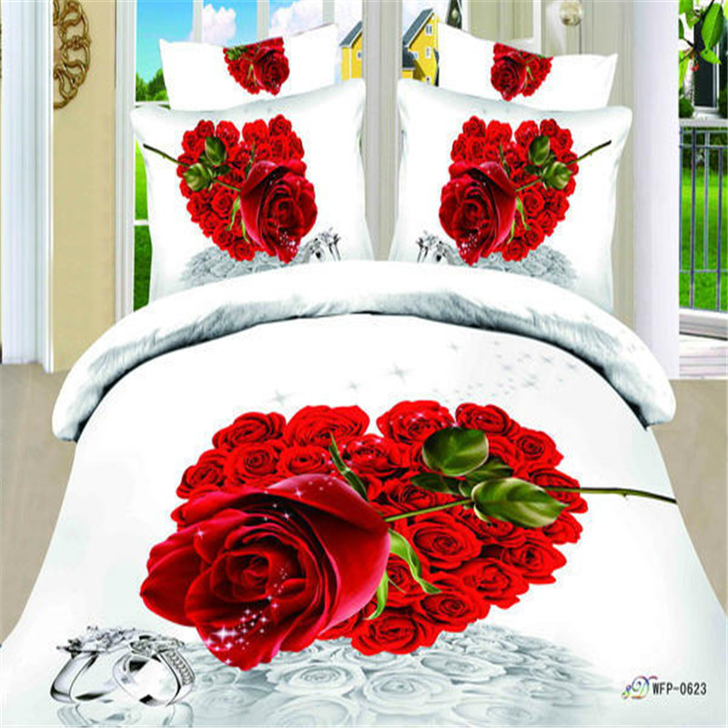 Top grade royal 3d bedsheet set stock bedding set 100% cotton custom any size