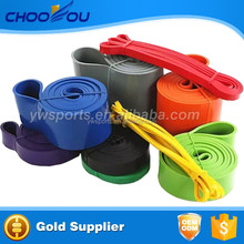 100% Natural Rubber Latex Resistance Band Set Fitness Band With Kinetic Fitness Exercise Fitness Band