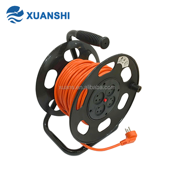 230V Israel automatic retractable extension cords plastic cable reel