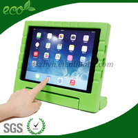 kid proof new arrival waterproof custom rubber tablet case EVA foam tablet pc cover for ipad air