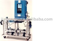 Portable gas meter testing system