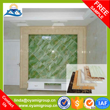 The ideal alternative for natural marble Water proof pvc decorative ceiling