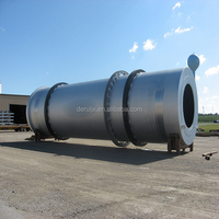 High Performance Wood Chips Rotary Drum Dryer For Sand, Coal, Wood Chips, Clay, Slag, etc