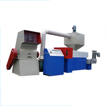 High quality waste plastic recycling granule making machine