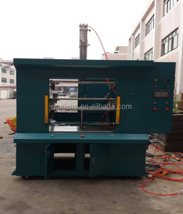 Automatic weld machine for auto parts bumper for automotive industry