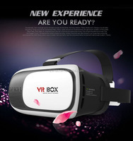2016 Google Cardboard VR BOX Version VR Virtual Reality 3D Glasses + Bluetooth Remote Control Gamepad