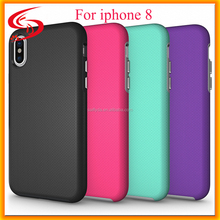 For Iphone 8 Shockproof Case Cover 2 in 1 TPU with PC Case , luxury Hybrid Phone Case For Iphone 7 8