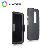 Best Price In Stock Hard Pc Material Combo Phone Case, Silicone Case For Motorola Moto G G3