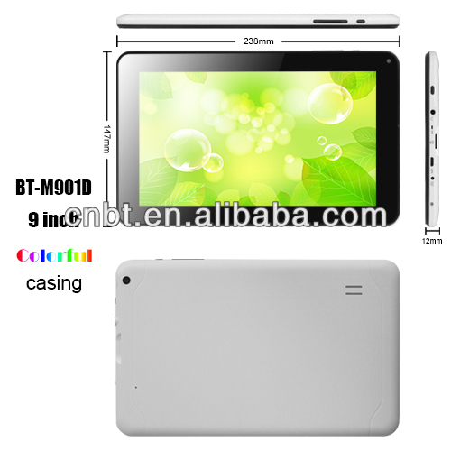 cheapest 9 Inch Factory Allwinner A13 Arm Cortex A8 tablet pc
