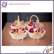 k5921 wholesale made in china new product wedding decoration customized Natural eco-friendly gift basket