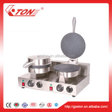 Commercial 220v Countertop Ice Cream Waffle Cones Machine