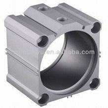 Aluminium extruded cylinder shell