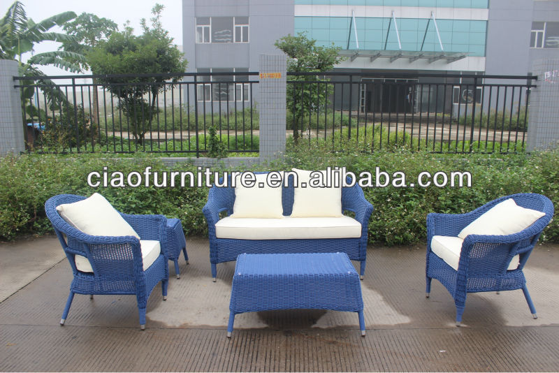 2013 English cheap outdoor rattan Garden sofa Furniture