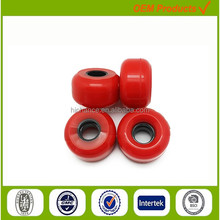 shopping bag wheels plastic pu cusotmized parts