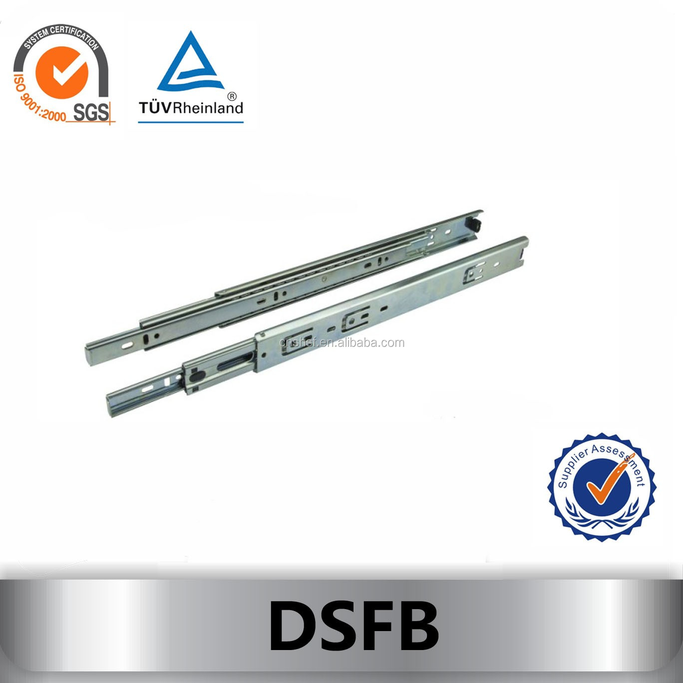 ball bearing furniture soft roller guide DSFB
