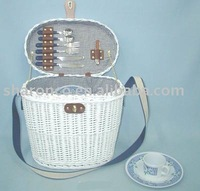 Wicker Picnic basket for two persons