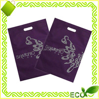 recycled eco friendly hot sales reusable promotional give away supermarket shopping grocery pp non woven die cut bag