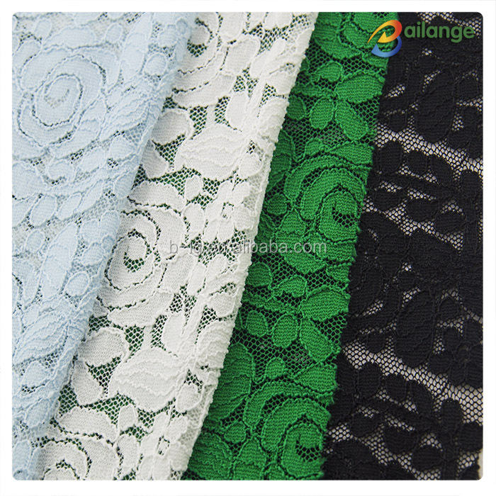Embroidery lace fabric market in dubai mesh for