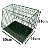 Sloping Folding dog Cage Cage for car