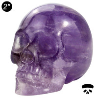 "Wholesale 2"" amethyst skull, amethyst quartz crystal skull for sale"