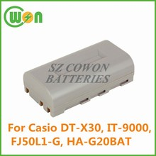 7.4V 2250mAh Battery for Casio DT-X30 DT-X30G DT-X30GR-30C IT-9000 HA-G20BAT HBM-CAS3000L FJ50L1-G