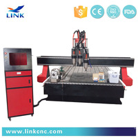 3 process cnc router woodworking machine LXM2440
