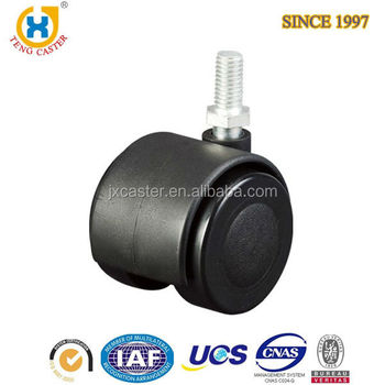 Caster Wheels Wholesales Black Small Wheels of Furniture Hardware