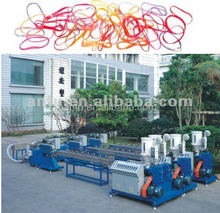 2015,High capacity, high quality, TPV,TPR colorful rubber band machine