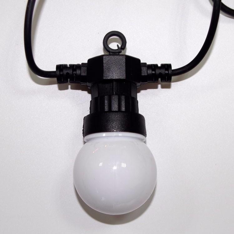 G50 garland with bulb led globe string light for outdoor tree light festoon lighting, View ...