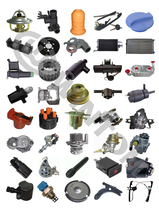 vw golf car auto spare parts