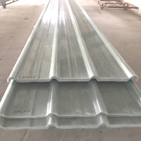 Translucent Corrugated FRP Roofing Fiberglass colored frp panels