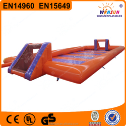 kids inflatable soap football field,inflatable soap football pitch,inflatable soap football arena