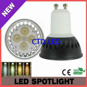 Cree XPE 2013 New Led Dimmable Spot Gu10 5W