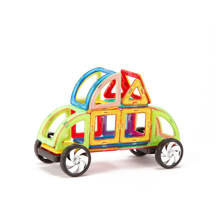 Multicoloured Educational Thinking Magnetic Building Blocks Toys For Kids