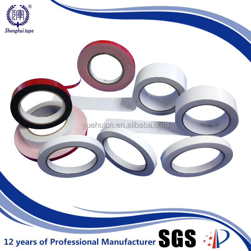 Dongguan Manfuacturer 25Mm X 50M High Adhesion Double Sided Gum Tape